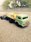 Vintage Toy Truck Photo libre de droits