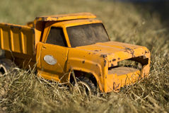 Vintage Toy Truck Stock Image