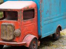 Vintage toy truck Stock Photo