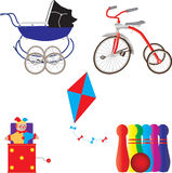 Vintage Toys Royalty Free Stock Images