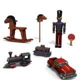 Vintage toys. Stock Photo