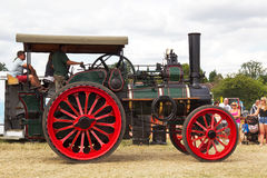 Vintage traction engine Stock Image