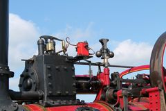 Vintage Traction Engine. Stock Image