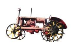 Vintage tractor. Stock Photo