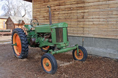 Vintage tractor Royalty Free Stock Images
