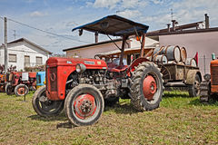 Vintage tractor Ferguson TEF 20 Royalty Free Stock Image