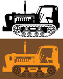 Vintage Tractor Stock Image