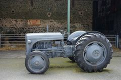 Vintage Tractor In Rural Ireland Royalty Free Stock Photo