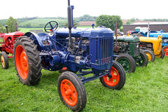Vintage tractors. Standing in field Royalty Free Stock Photos
