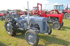 Vintage tractors Royalty Free Stock Images