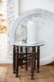 Vintage traditional arabic things. Vintage traditional arabic table with vases on it Royalty Free Stock Photography