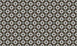 Vintage, traditional Portuguese tiles. Circular pattern formation stacking Stock Photo
