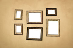 Vintage traditional realistic frames set Royalty Free Stock Photos