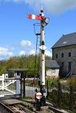 Vintage Trail Signal. In Staverton England, Spring 2014 Royalty Free Stock Photos