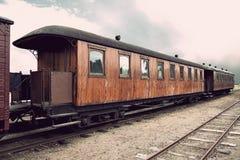 Vintage train Stock Photos