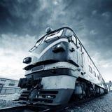 Vintage train Royalty Free Stock Photo