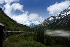 Vintage train in Alaska Stock Photos