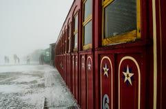 Vintage train. Royalty Free Stock Photo