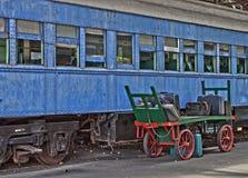 Vintage Train Car Stock Photos