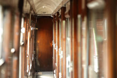 Vintage train carriage Royalty Free Stock Image