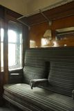 Vintage Train Compartment. Stock Photos