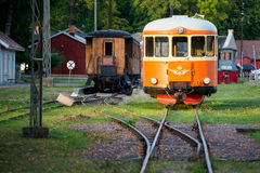 Vintage train Stock Images