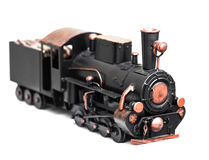 Vintage train toy Royalty Free Stock Image
