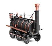 Vintage train toy Royalty Free Stock Photo