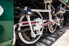 Vintage train wheels Stock Images
