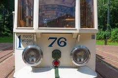 Vintage tram Stock Images