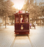 Vintage tram Royalty Free Stock Images