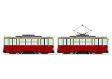 Vintage tram Royalty Free Stock Image