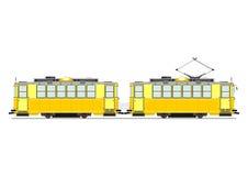 Vintage tram Stock Photo