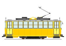 Vintage tram Stock Photography