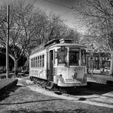 Vintage Tram Royalty Free Stock Photo