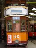 Vintage Trams In Museum Royalty Free Stock Images
