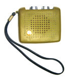 Vintage transistor radio Royalty Free Stock Images