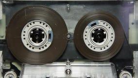 Vintage transparent audio cassette tape