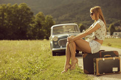 Vintage Travel Royalty Free Stock Photo