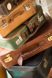 Vintage travel bags Royalty Free Stock Image