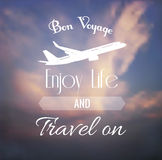 Vintage travel blurred Royalty Free Stock Images