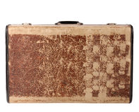 Vintage travel case Royalty Free Stock Photography
