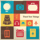 Vintage Travel Icon Royalty Free Stock Image