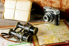 Vintage travel memories Royalty Free Stock Photo