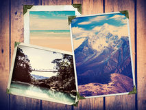 Vintage Travel Photos Royalty Free Stock Photos
