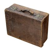 Vintage travel suitcase Royalty Free Stock Image