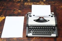 Vintage Travel Typewriter Stock Image