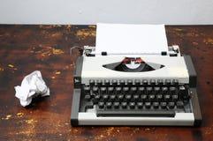 Vintage Travel Typewriter Royalty Free Stock Image
