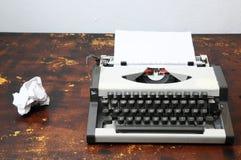 Vintage Travel Typewriter Royalty Free Stock Images