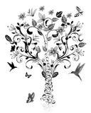 Vintage tree Stock Images